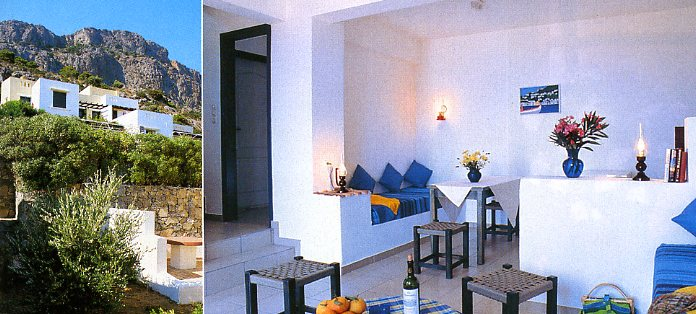 locations des villas en cr te. Black Bedroom Furniture Sets. Home Design Ideas