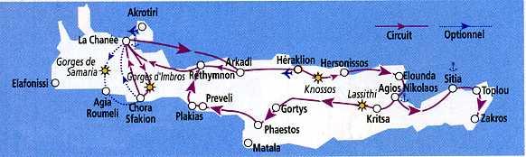 Carte Circuit Crete.Circuit En 2009 En Crete Sur Les Traces De Minos